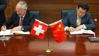 «China betrachtet die Schweiz als Brückenkopf in Europa»