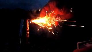 Feuerwerk, das nie zu Ende geht – GIF sei Dank