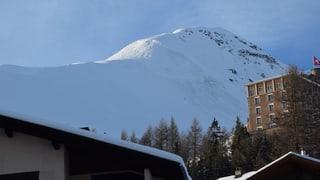 In den Berner und Bündner Alpen gehen Lawinen nieder