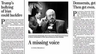 Was bisher im Fall Khashoggi geschah