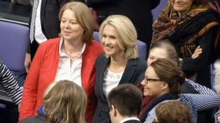 Deutscher Bundestag beschliesst Frauenquote