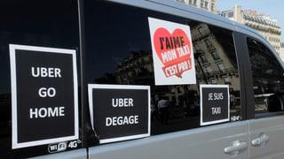 Genfer Taxichauffeure müssen mit «Uber» leben