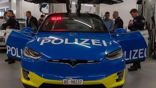Tesla-Beschaffung der Basler Polizei verstiess gegen alle Regeln