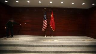 Beginnende Eiszeit zwischen China und den USA