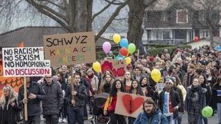 Bündnis Buntes Schwyz reicht Strafanzeige ein