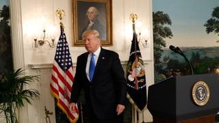 «Das heisst nicht, dass Trump etwas vorgeworfen werden kann»