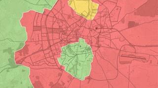 Das dreigeteilte Aleppo