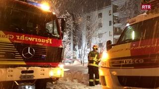 Incendi intenziunà a Cuira: Trais persunas moran