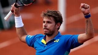 Unwiderstehlicher Wawrinka im French-Open-Halbfinal