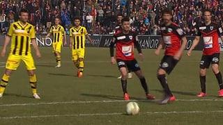 FC Aarau vergibt Heimsieg in den letzen Minuten
