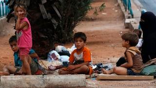 Syrische Flüchtlinge suchen Hoffnung im Libanon