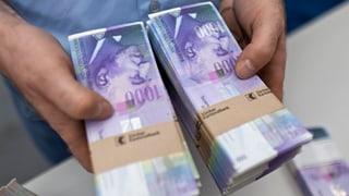 Millionendiebstahl aus Notendruckerei