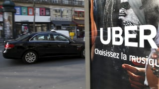 800'000 Euro Busse für Fahrdienstanbieter Uber