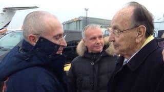 Chodorkowski «erschöpft, aber sehr glücklich»