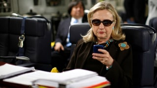 Als Aussenministerin: Hillary Clinton nutzte private Mail-Adresse