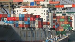 Chinas Aussenhandel wächst und wächst