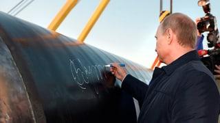 Putin droht Europa mit Drosselung von Gaslieferungen