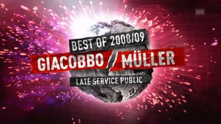 Webfirst: Best of «Giacobbo/Müller» 2008/2009 (Artikel enthält Video)