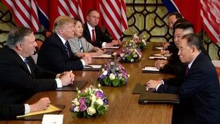 Nagina cunvegna tranter Trump e Kim Jong Un