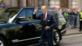 Prinz Philip zeigt sich wieder in der Öffentlichkeit