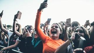 Handywahn am Zürich Openair: «Ich habe das ganze Konzert gefilmt»