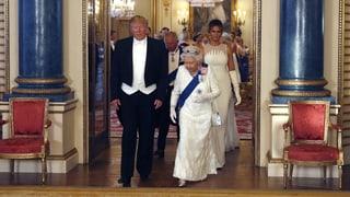 Trump beim Staatsbankett im Buckingham Palace