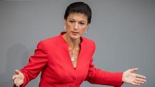 Wagenknecht greift die SPD frontal an