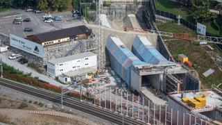 Weiterer Durchstich im Ceneri-Tunnel