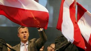 Österreich wählt rechts: FPÖ-Kandidat gewinnt den ersten Wahlgang