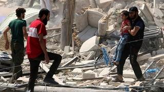 UNO fordert Evakuierungen aus Aleppo