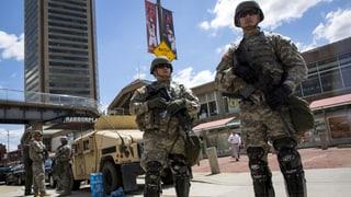 Unruhen in Baltimore: Bevölkerung wirft Stadt Unfähigkeit vor