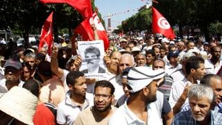 Politiker-Mord löst Proteststurm in Tunis aus