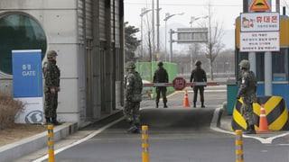 Nordkorea soll den ersten Schritt zur Deeskalation machen