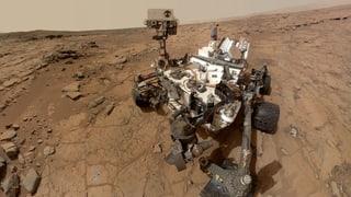 Die Nasa in Partylaune: Ein Jahr «Curiosity» auf dem Mars