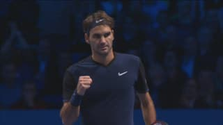 So bezwang Federer an den ATP Finals Djokovic