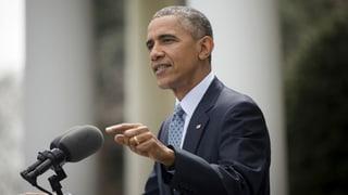 Obama: «Wenn der Iran betrügt, wird die Welt es erfahren»