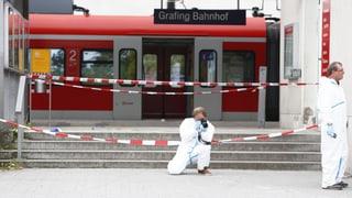 Messerstecher tötet Passanten in Bayern