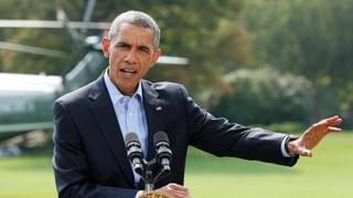 Obama zu umfangreicheren Luftschlägen bereit