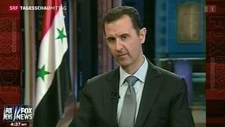 Assad: Giftgas in den USA vernichten