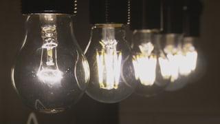 Stromsparen mit Licht: LED-Lampen haben die Nase vorn