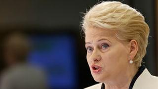 Grybauskaite bleibt Präsidentin Litauens