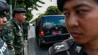 Thailands Armee greift durch