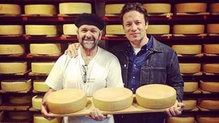 Jamie Oliver sin visita ad Andeer