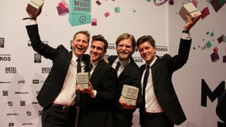 Hecht gewinnen den Swiss Music Award als «SRF 3 Best Talent 2013
