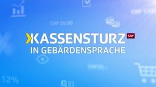 «Kassensturz in Gebärdensprache»