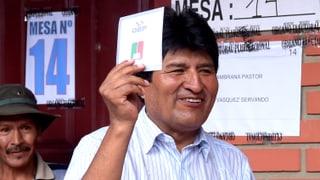 Bolivien: Morales zeigt im Amt wohl zu wenig Moral
