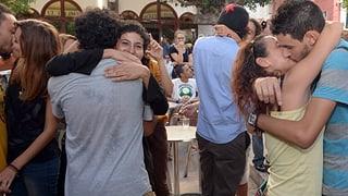 «Kiss-in» in Marokko für mehr Toleranz