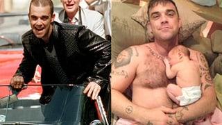 Robbie Williams wird 40: Vom Teenie-Rebell zum Papa