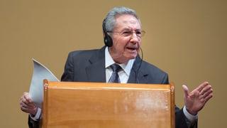 Frage nach politischen Gefangenen bringt Castro aus der Fassung