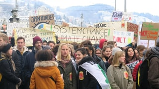 Hunderte Jugendliche demonstrieren für Klimaschutz